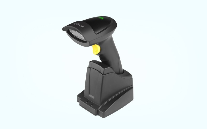 SM104J 1D cordless scanner with chargable stand