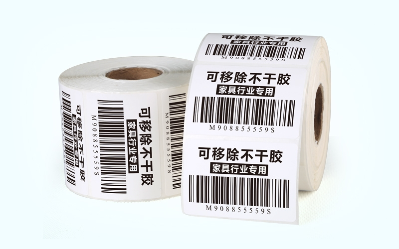 Removable label stickers